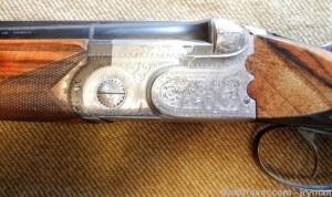 "Beretta ASE-L 12ga, double triggers, 30"" light full and improved cylinder barrels"