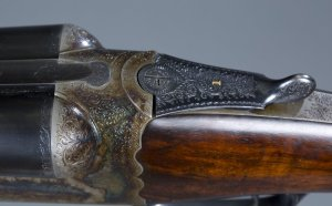 12 gauge Westley Richards & Co. Ltd Double Barrel Droplock Shotgun