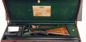 12 gauge Westley Richards & Co. Ltd Double Barrel Droplock Shotgun