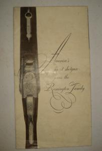 Vintage 1934 Parker Gun Company/Remington Catalog.