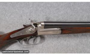 12 gauge AYA Hammer Double Barrel Shotgun