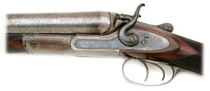 W & C Scott & Sons 8 Bore Double Hammer Shotgun With Extra 10 Bore Barrels