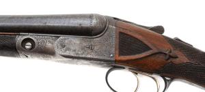 16 gauge Parker BHE double barrel shotgun, #208485