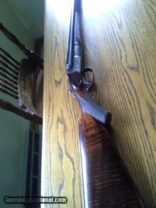 16 gauge D. M. Lefever 9F Double Barrel Shotgun