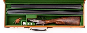 Winchester-Parker Reproduction 28ga DHE Grade Two-Barrel Set Side-by-Side Shotgun, #28-1217: