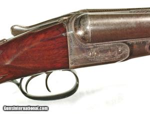 PARKER GHE 12 GAUGE DOUBLE BARREL SHOTGUN