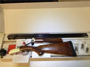 28 gauge Ruger Red Label Over-Under Double Barrel Shotgun