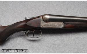 William Powell & Son SxS Boxlock Ejector 12 Ga. Shotgun