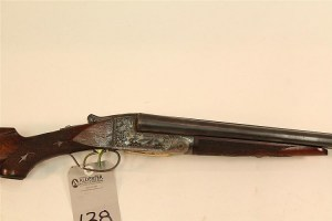 Ithaca Grade 4E side by side double barrel shotgun. 16 ga