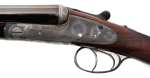 20 gauge Boss &Co. Sidelock SxS Double Barrel Shotgun, Round Body