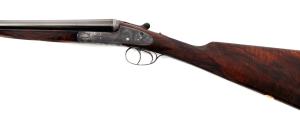 20 gauge Boss &Co. Sidelock SxS Double Barrel Shotgun, Round Body