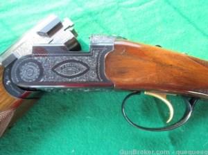 20 gauge Beretta BL-4 double barrel O/U shotgun