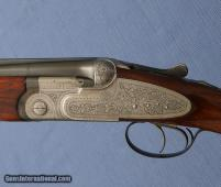 "BERETTA - SO3 - 12ga 28"" M / F - English Stock - Double Trigger - Leather Pad"