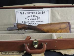 .J Jeffery 12ga Ejector scolloped boxlock