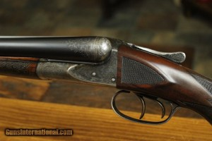 A.H. Fox Historic Live Bird Side-by-Side CE-grade 12 Gauge shotgun