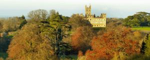 Highclere Castle, where parts of Downton Abbey are filmed