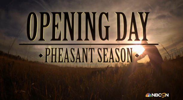Tom Brokaw's Opening Day, chronicling the impact of pheasant hunting on SD