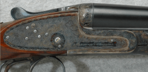 AYA Model 117 Side by side 20 gauge sidelock shotgun