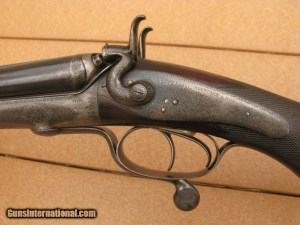 Mortimer and Sons .450 3 1/4 BPE Side-by-Side Double Rifle