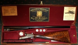 HOLLAND & HOLLAND, SELF OPENER BREVIS 12GA SHOTGUN