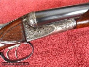 A. H. Fox, A Grade, 20 Gauge, Side-by-Side - Gorgeous