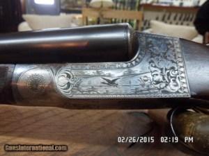 "ITHACA 1916 FLUES HAMMERLESS 4E GRADE 12GA. 3"" SHOTGUN 98% PLUS ORIGINAL CONDITION"