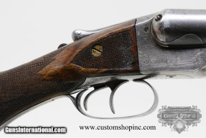 D.M. Lefever 7D 12 Gauge Side By Side