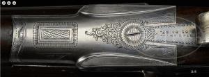 FINE, AS FOUND, WILLIAM EVANS SIDELOCK EJECTOR GAME GUN WITH CASE.
