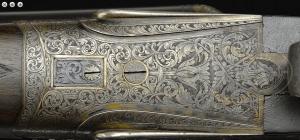 FINE, AS FOUND, WILLIAM EVANS SIDELOCK EJECTOR GAME GUN WITH CASE