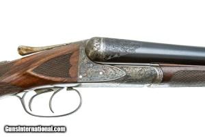 A.H.FOX XE 12 GAUGE SxS SHOTGUN: