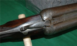 Antique Sneider 8 gauge double barrel sxs shotgunAntique Sneider 8 gauge double barrel sxs shotgun