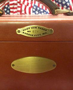 Marvin Huey Oak & Leather Motorcase for a 12g Shotgun