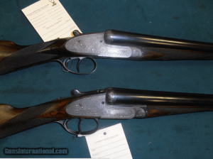 Cogswell & Harrison Side lock Ejector Matched Pair 12ga