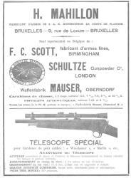 H. Mahillon, Gunmaker