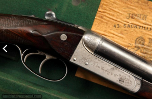 John Rigby & Co. .470 Nitro Express Double Rifle in completely original condition with EXCELLENT bores: