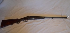 W. & C. Scott 30.06 Sidelock SxS Double Rifle