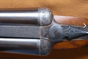 Ogden Smiths & Hussey Imperial Ejector SxS Shotgun