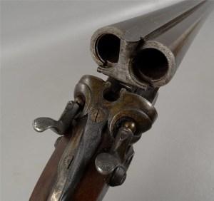 Antique 12g W & C Scott SxS Hammergun on Gunbroker.com