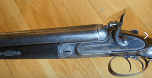 James Purdey 10 Bore SxS Hammer Gun