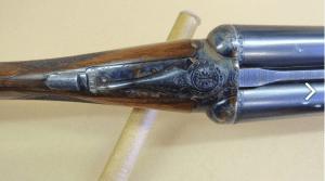 WEBLEY & SCOTT MODEL 712 12 GA SIDE BY SIDE SHOTGUN