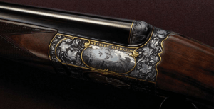 Droplock Westley Richards SxS shotgun. Pic from WR website