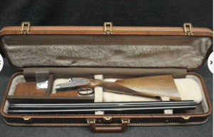 12G BROWNING BSS SIDELOCK SxS SHOTGUN WITH BROWNING CASE