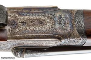 W.W. GREENER PREMIER SIDELOCK SXS DOUBLE BARREL 16 GAUGE SHOTGUN. BUILT BY DRYHURST & TANDY.