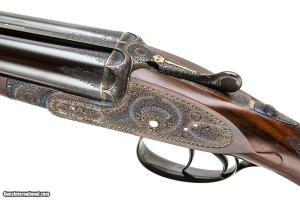 W.W. GREENER PREMIER SIDELOCK SXS DOUBLE BARREL 16 GAUGE SHOTGUN. BUILT BY DRYHURST & TANDY.