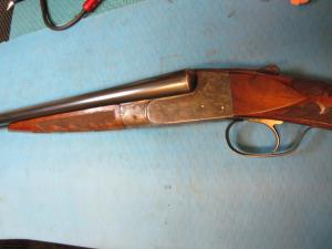 "Ithaca 1911 Grade 4E Flues SXS 20ga with Ejectors 28"" Krupp Fluid Steel Barrels Beautiful"