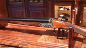 Webley & Scott Model: 700, 20 Gauge Side-by-Side Shotgun