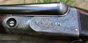 "Parker BHE SxS 20 gauge 32"" barrels, Straight Grip"