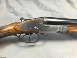 "FRANCOTTE 16GA SIDELOCK SIDE-BY-SIDE ""FUNERAL"" SHOTGUN"
