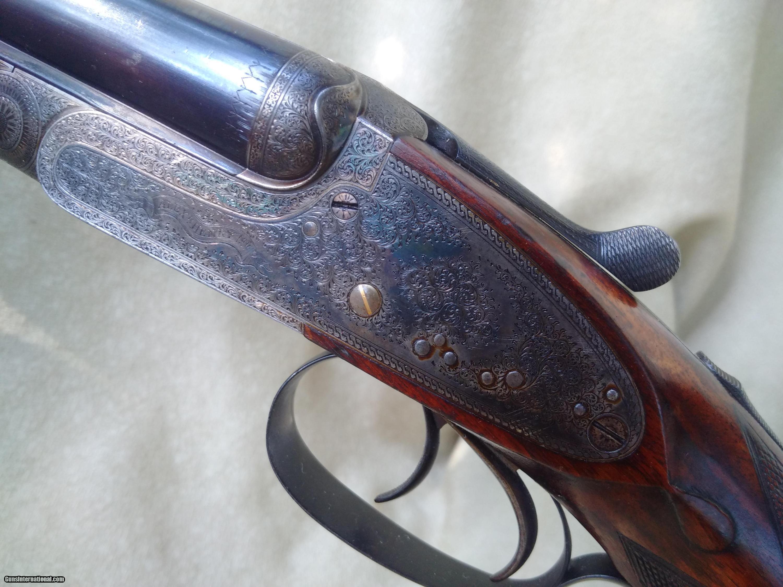 Super rare: An Alexander Henry  303 hammerless double rifle