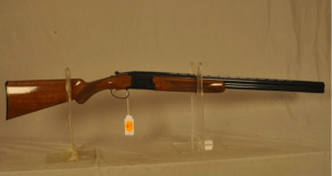 Browning Citori, 20 ga. over/under shotgun.